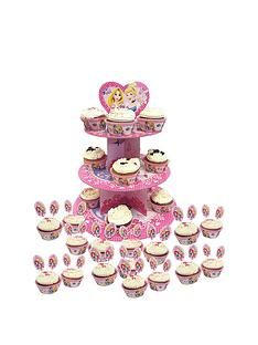 disney-princess-princess-sparkle-cake-stand-and-cupcake-cases