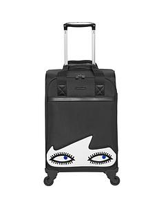 lulu-guinness-doll-face-4-wheel-cabin-case