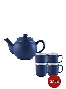 price-kensington-6-cup-teapot-and-4-mugs-navy