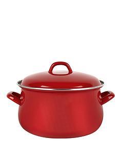swan-14-cm-casserole-pot-red