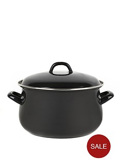 swan-14-cm-casserole-pot-black