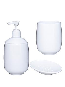 aqualona-madrid-3-pack-lotion-bottle-soap-dish-and-beaker