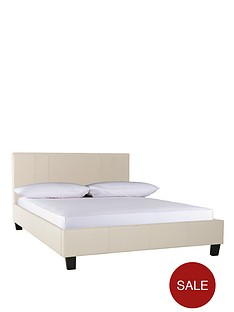seattle-fuax-leather-single-bed-frame