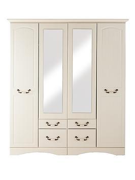 consort-new-avanti-4-door-4-drawer-mirrored-wardrobe-vintage-white