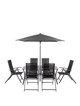 roma-8-piece-recliner-dining-set-with-next-day-delivery