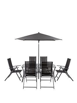 roma-8-piece-recliner-dining-set