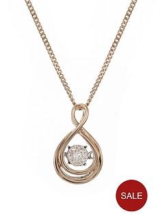 love-diamond-9-carat-rose-gold-shimmering-4-point-diamond-pendant