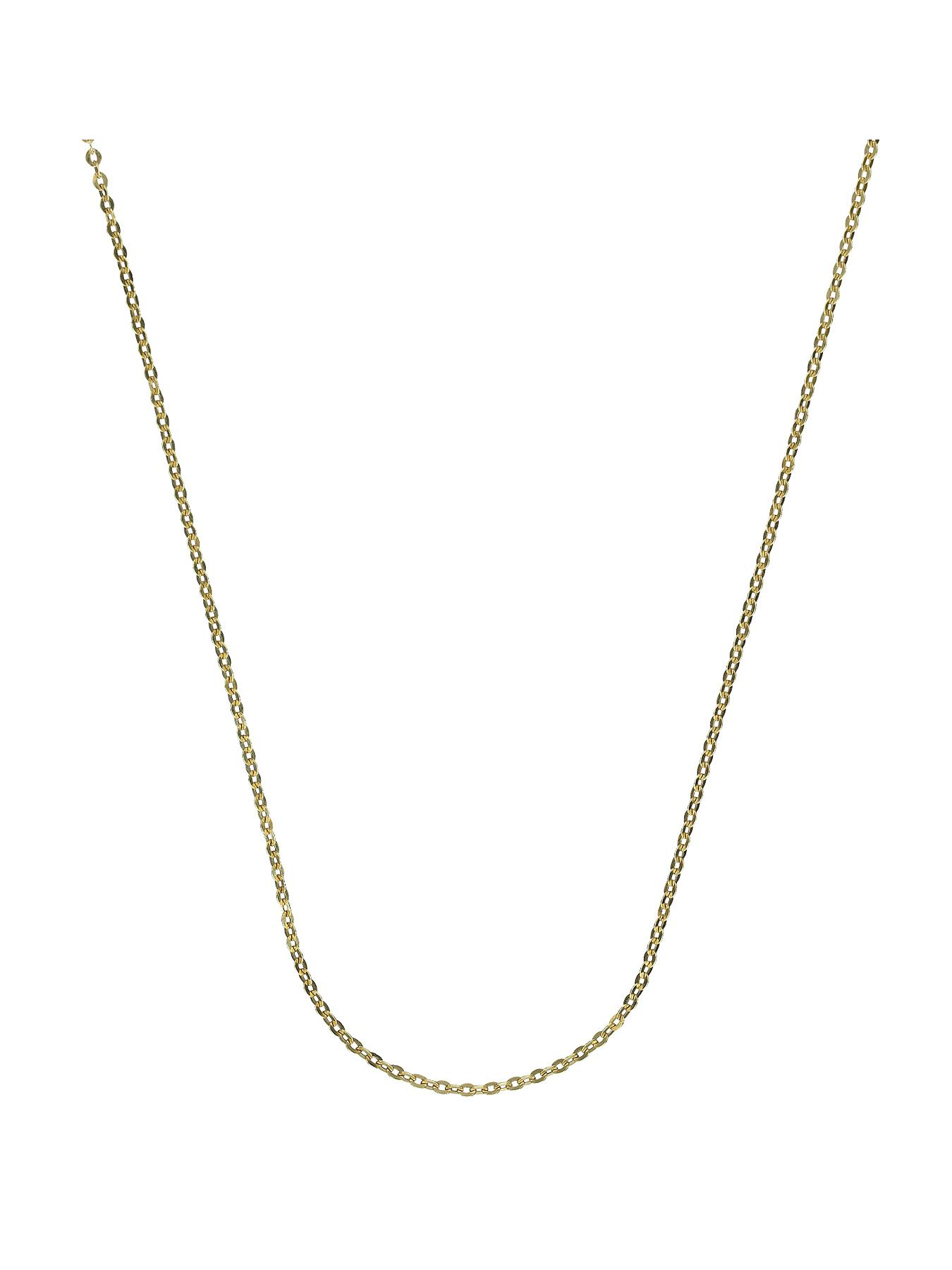 Sterling Silver and 9 Carat Yellow Gold Bonded Chain 20 inch