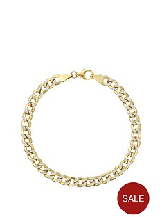 love-silver-sterling-silver-and-yellow-gold-bonded-pave-curb-bracelet