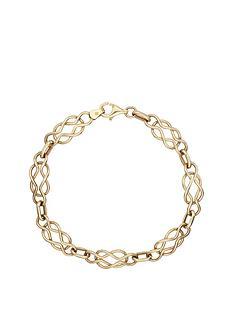love-gold-9-carat-yellow-gold-celtic-bracelet