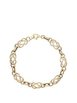 love-gold-9-carat-yellow-gold-celtic-bracelet