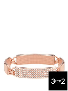 lola-and-grace-rose-gold-plated-pave-id-bracelet-made-with-swarovski-elements