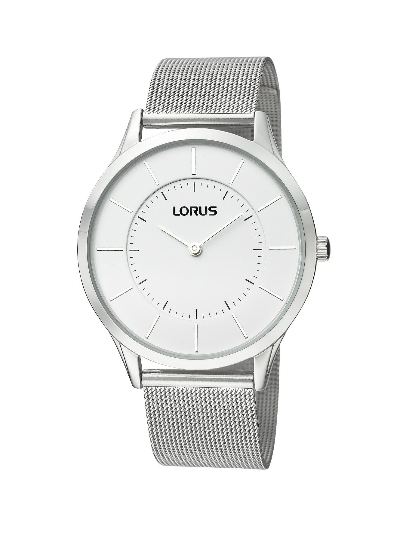 Lorus Silver Tone Unisex Watch