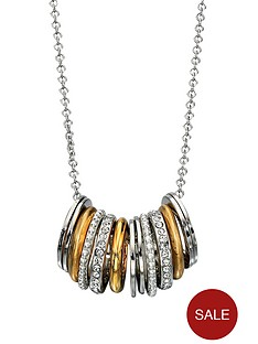 fiorelli-metallic-and-diamond-rings-necklace