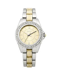 oasis-two-tone-cream-dial-ladies-watch