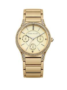 karen-millen-silver-dial-rose-gold-tone-stainless-steel-bracelet-ladies-watch