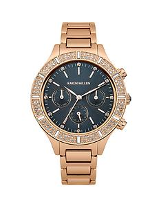 karen-millen-blue-dial-rose-gold-tone-stainless-steel-bracelet-ladies-watch