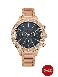 karen-millen-blue-dial-rose-gold-tone-stainless-steel-bracelet-ladies-watch