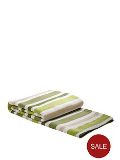 striped-blanket-green