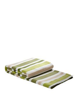 Striped Blanket - Green