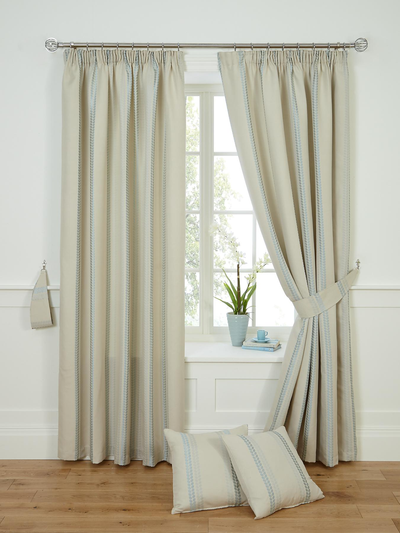 Darwin Lined Pleated Curtains