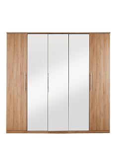 new-prague-5-door-mirrored-wardrobe