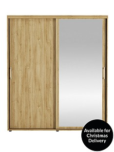 manhattan-sliding-2-door-mirrored-wardrobe