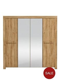 sydney-4-door-mirrored-wardrobe