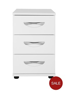 consort-naxos-ready-assembled-3-drawer-bedside-cabinet