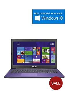 asus-x553ma-intelreg-celeronreg-processor-4gb-ram-1tb-hard-drive-wi-fi-156-inch-laptop-with-optional-microsoft-office-365-personal-purple