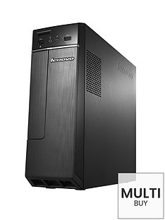 lenovo-h30-intelreg-pentiumreg-processor-4gb-ram-1tb-hard-drive-wi-fi-desktop-base-unit-with-optional-microsoft-office-365-personal-black