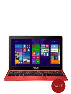 asus-x205ta-intelreg-atomtrade-processor-2gb-ram-32gb-hard-drive-wi-fi-116-inch-laptop-with-microsoft-office-365-personal--red