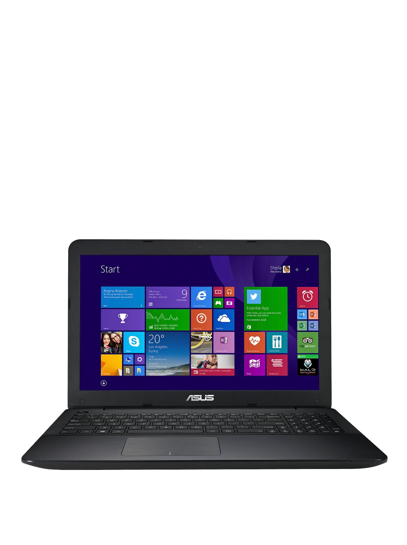 Asus X555LA Intel Core i3 Processor, 4Gb RAM, 1Tb Hard Drive, Wi-Fi, 15.6 inch Laptop with Optional Microsoft Office 365 Personal - Blue