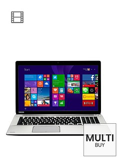 toshiba-p70-b-10t-intelreg-coretrade-i7-processor-16gb-ram-2tb-hdd-wi-fi-173-inch-full-hd-laptop-with-amd-radeon-r9-4gb-graphics--silver-metal