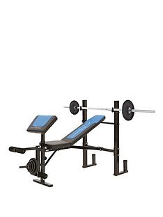 activeman-weight-bench-with-30kg-cast-iron-set