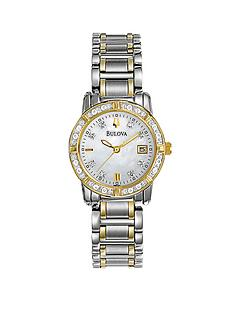 bulova-highbridge-diamond-bezel-bicolour-bracelet-ladies-watch