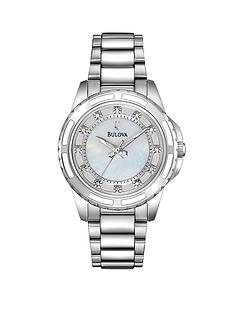 bulova-diamond-dial-stainless-steel-ladies-watch