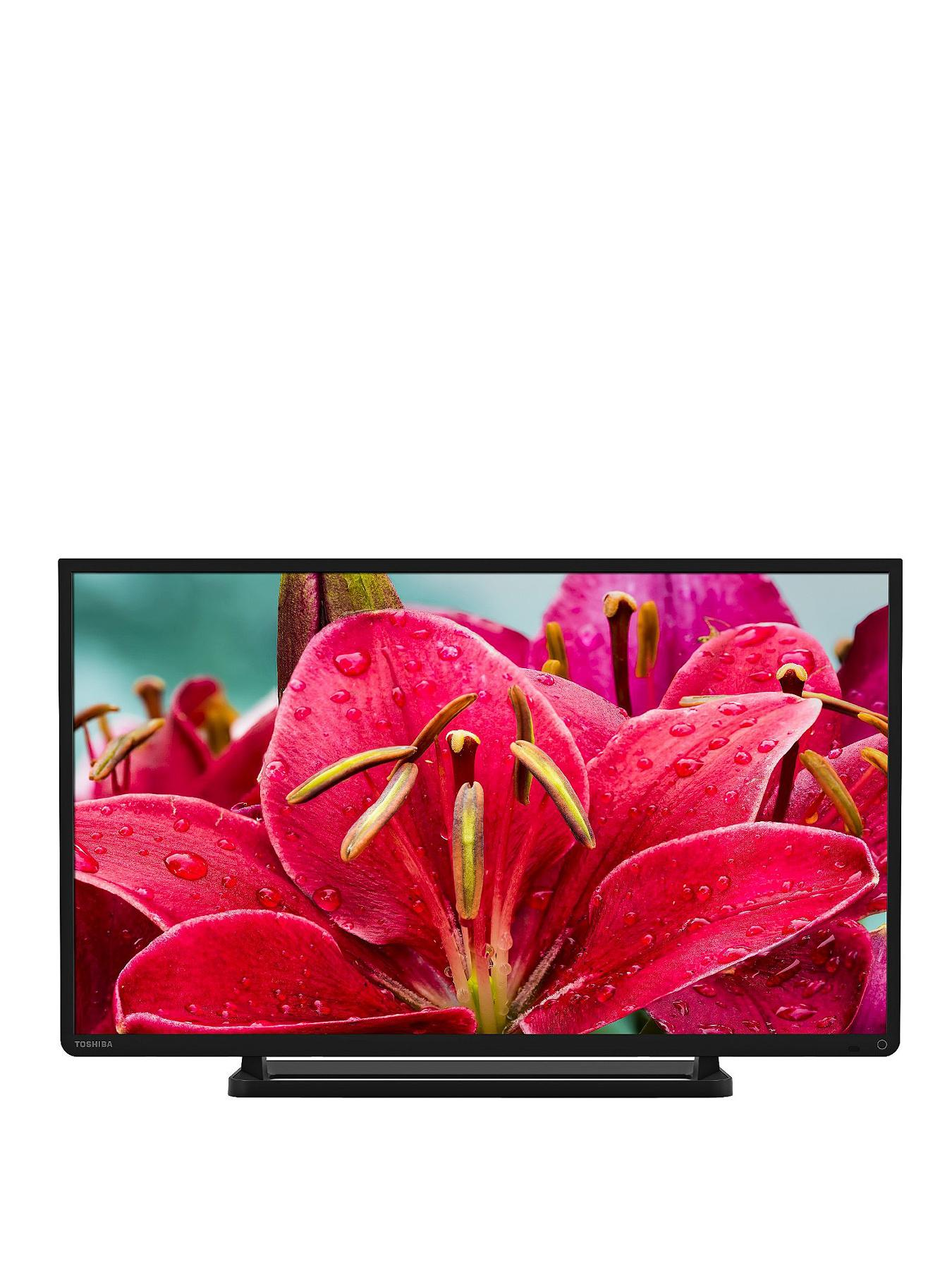 Toshiba 32W2433DB 32-inch Widescreen HD LED TV with Freeview