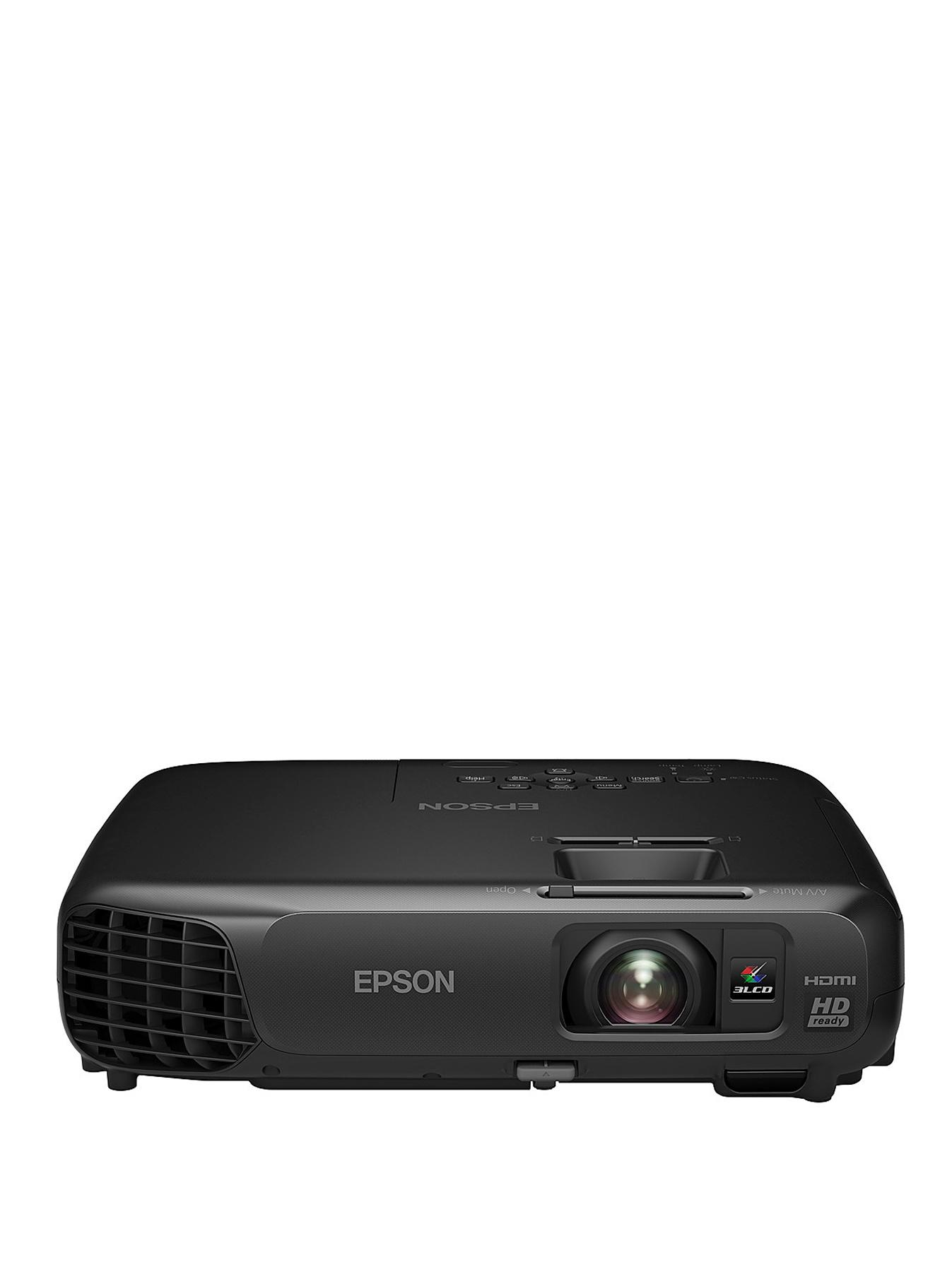 Epson EH-TW490 HD-Ready 720p Home Cinema Projector - Black