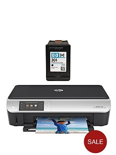 hp-envy-5530-eaio-printer-plus-additional-hp-301-black-ink-cartridge