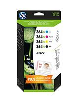 364XL Ink Cartridge Combo Pack (4 Pack)