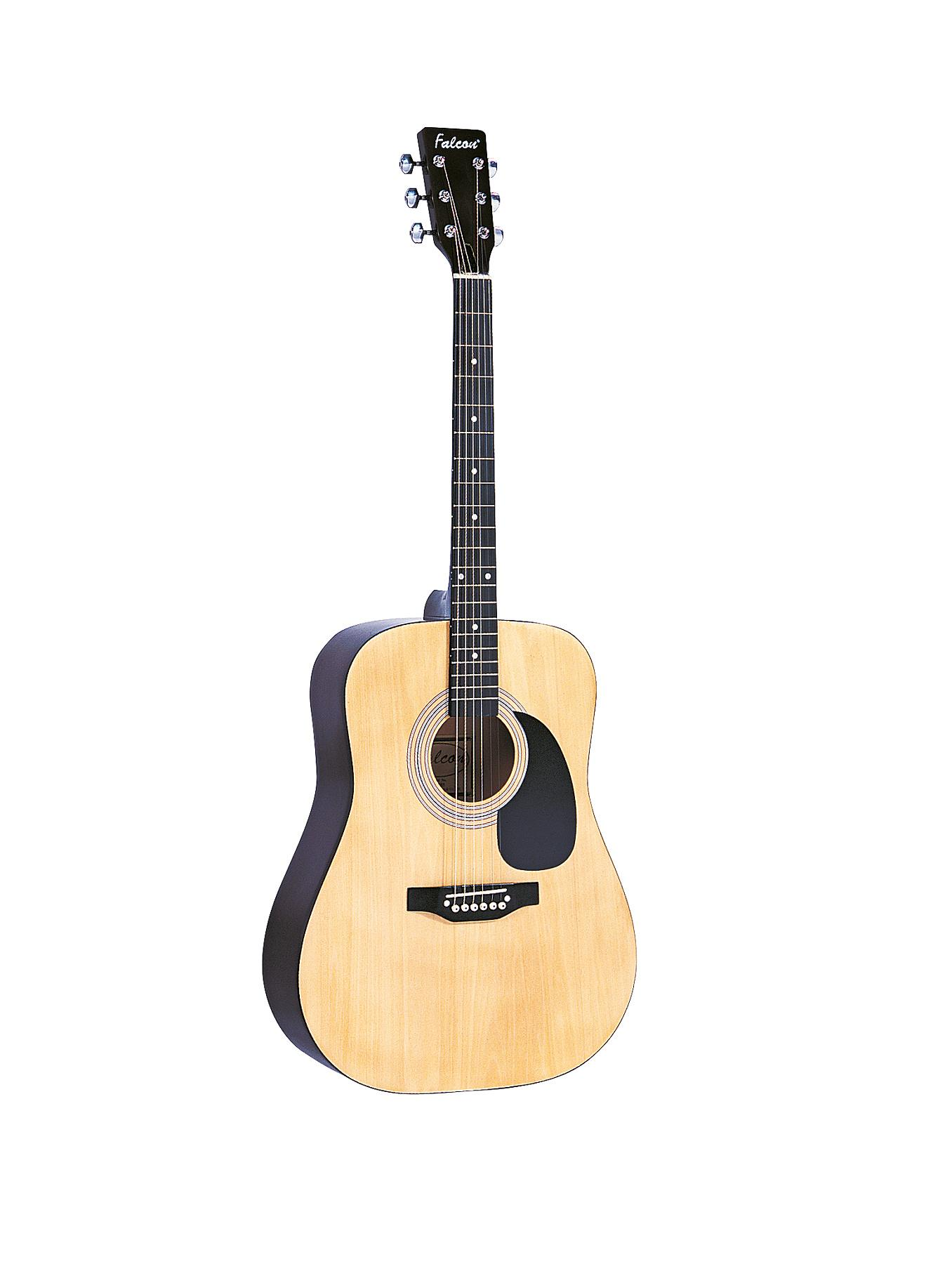 Falcon Dreadnought Acoustic Guitar, Natural