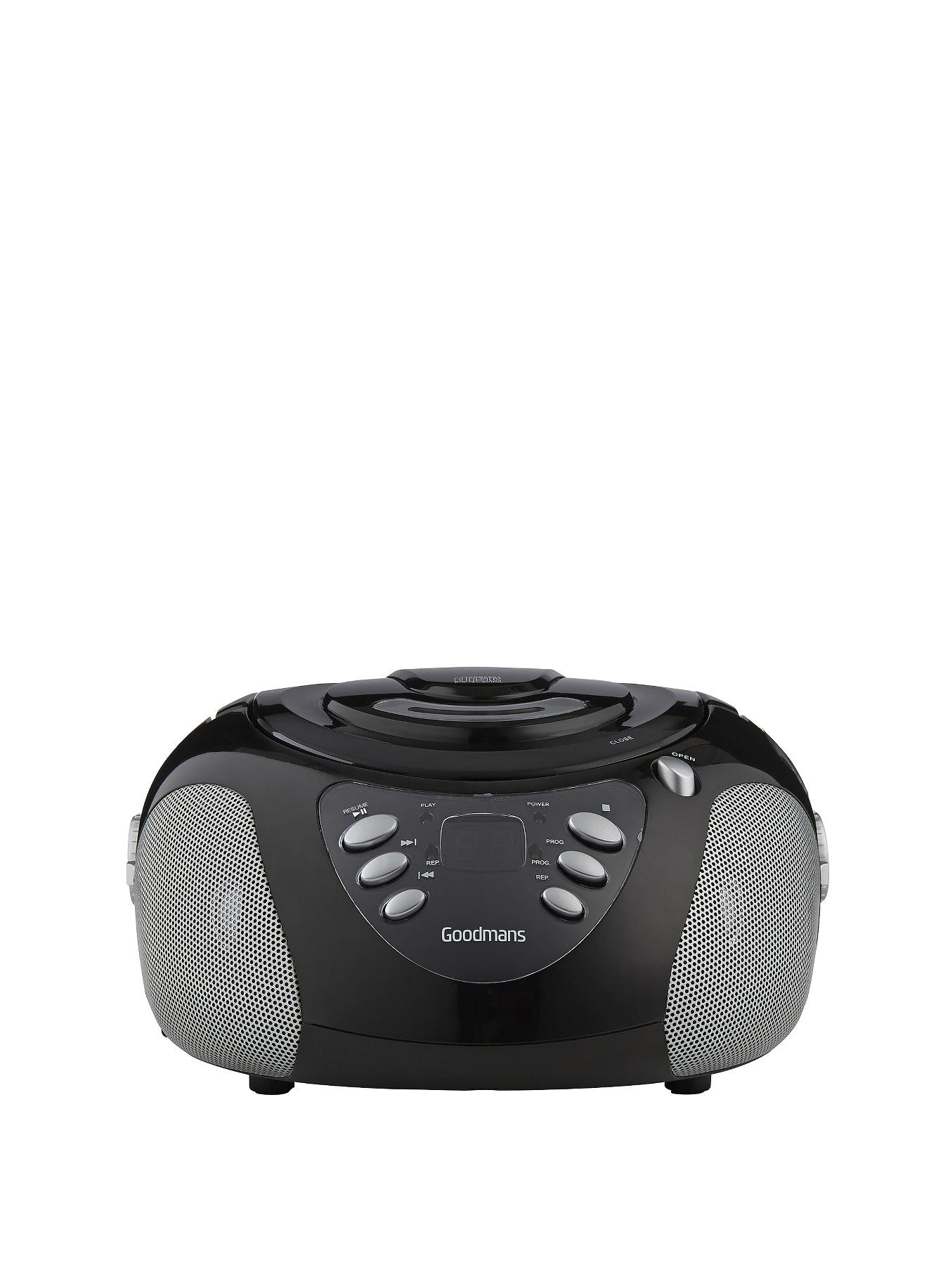 Goodmans GPS02 CD Boombox