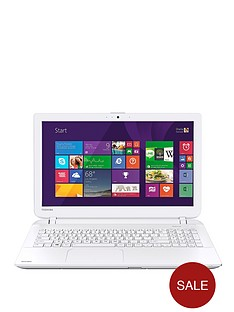 toshiba-l50-d-b-16q-amd-e1-processor-6gb-ram-1tb-hard-drive-wi-fi-156-inch-laptop-white
