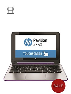hp-pavilion-360-11-n020na-intelreg-celeronreg-processor-4gb-ram-500gb-hard-drive-wi-fi-bgn-bt-116-inch-touchscreen-2-in-1-laptop-purple