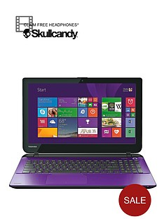 toshiba-l50-d-b-16v-amd-a8-processor-8gb-ram-1tb-hard-drive-wi-fi-156-inch-laptop-with-optional-microsoft-office-365-personal-purple