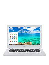 CB5-311 Nvidia Processor, 2Gb RAM, 16Gb Hard Drive, Wi-Fi, 13.3 inch Chromebook - White