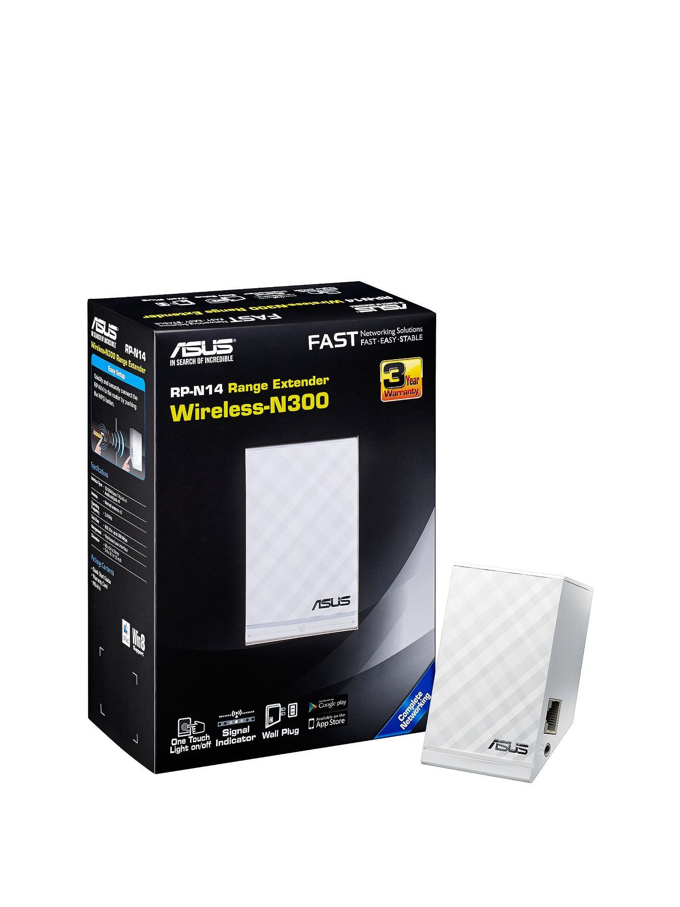 Asus RP-N14 Wireless N300 Range Extender