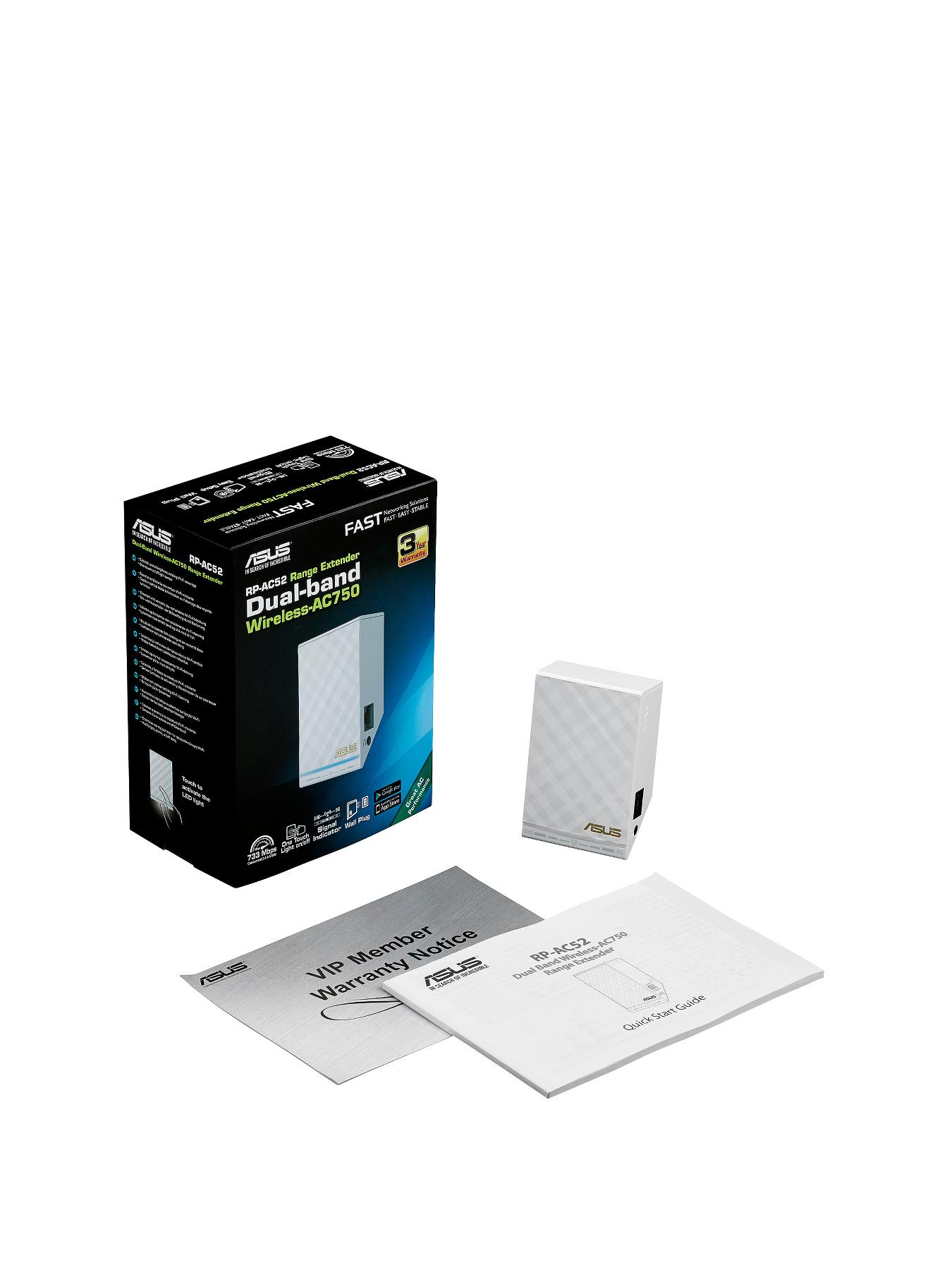 Asus RP-AC52, Dual Band Wireless AC750 Range Extender