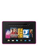 Fire HD 7, Quad Core, 1GB RAM, 8GB Storage, 7in Touchscreen Tablet - Pink